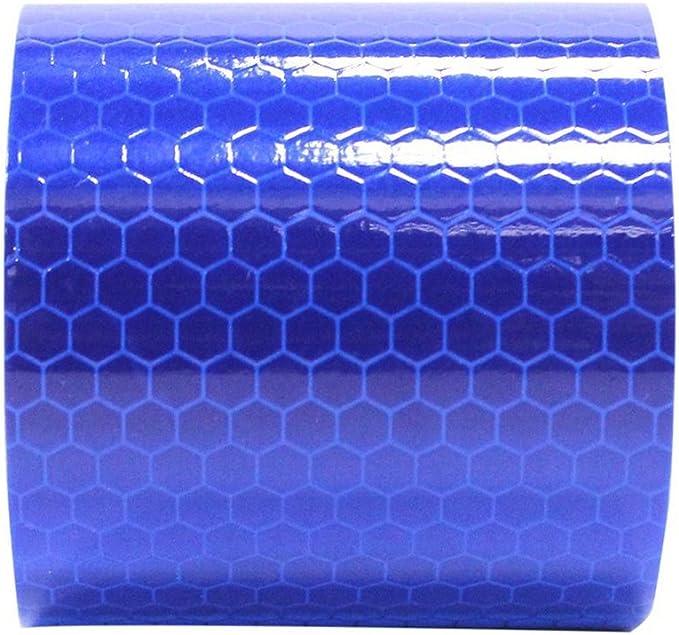 8 x 2 cm blau 8 x Reflektorstreifen f/ür Helme