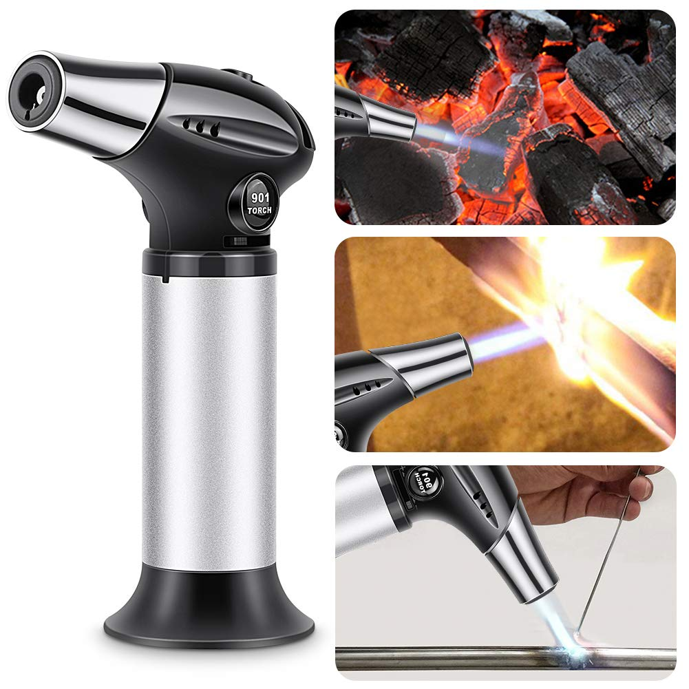 Blow Torch, Professional Kitchen Cooking Torch with Safety ...