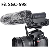 Outdoor Microphone Furry Windscreen Muff for TAKSTAR SGC-598