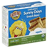 Earth's Best Organic Sunny Days Snack Bars, Apple, 8 Count (Pack of 6) 5.3oz