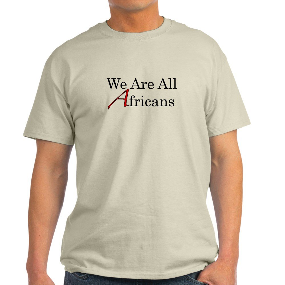 Amazon.com: CafePress - We Are All Africans Light T-Shirt - 100 ...
