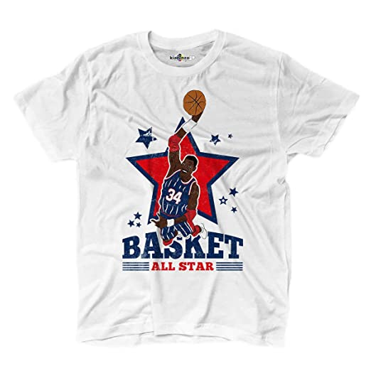Camiseta camiseta Baloncesto Vintage parodia Hakeem Olajuwon All ...