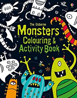 monsters colouring and activity book colouring activity book