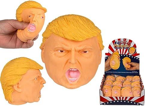 Horror-Shop Donald Trump Anti-estrés Bola: Amazon.es: Juguetes y ...