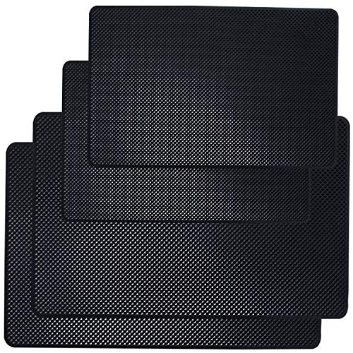 (Car Dashboard Anti-Slip Mat, DaKuan 4 Packs 10.5