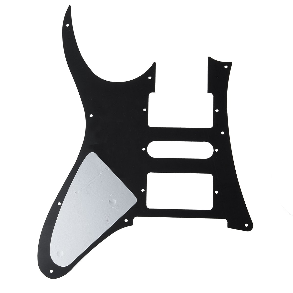 Amazon.com: Kmise MI0221 Black Electric Guitar Pickguard for Ibanez ...