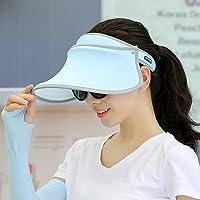 帽子女夏天防晒帽遮脸防紫外线潮遮阳帽户外出游太阳帽百搭美白帽