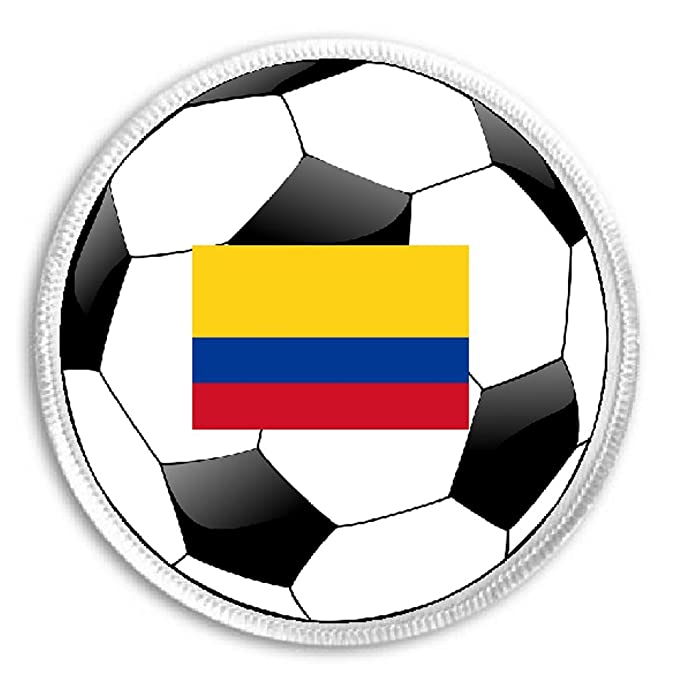 Amazon.com: Balón de fútbol bandera de Colombia – 3