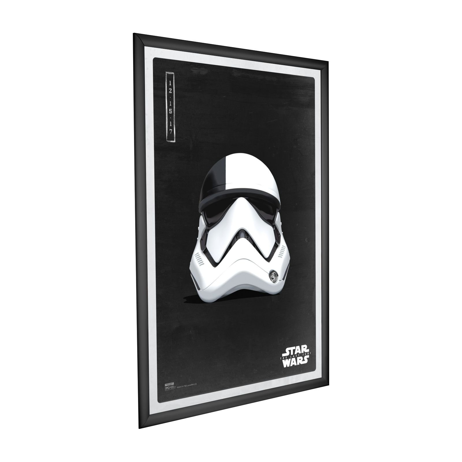 SnapeZo Movie Poster Black Frame 27x40 Inches, 1.2\