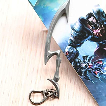 Amazon.com: League of Legends LOL Game Diana Weapon Pendant ...