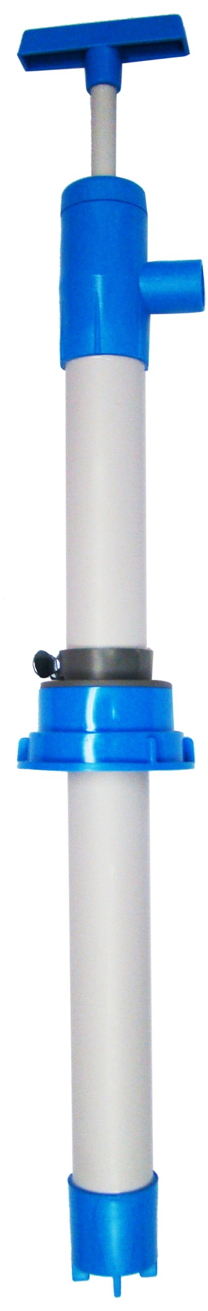 Action Pump 7015 All PVC Siphon Pump for 5-6 Gallon Pails, 2'' NPS Bung Adapter