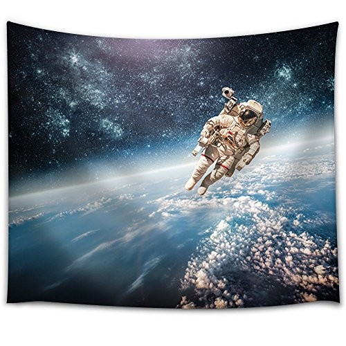 a 75 kg astronaut floating in space throws - photo #8
