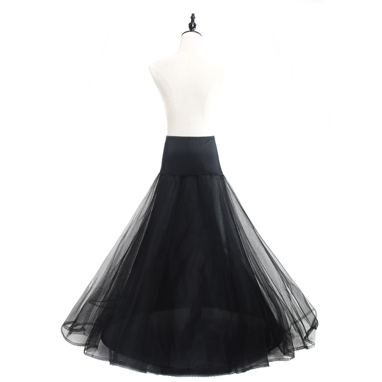 in Design Premium Quality Underskirt Wedding Bridal Petticoat Slips One Size for UK Size 4-12 TKB0019 TUKA Crinoline 3 Layers 1-Hoop for Womens Wedding Dress Evening Gown etc