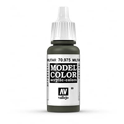 Vallejo Military Green Paint, 17ml: Toys & Games