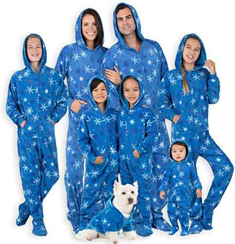 Footed Pajamas - Family Matching It s A Snow Day Hoodie Onesies for Boys 887c4b5a7