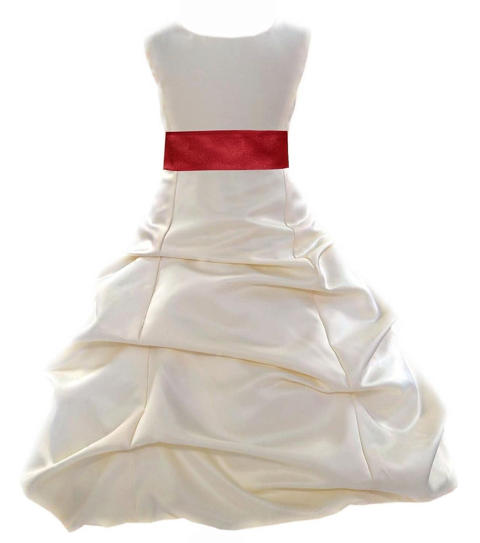 Amazon Wedding Pageant Ivory Flower Girl Dress Bridesmaid
