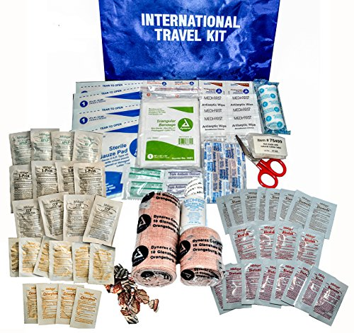(Medique 77501 International Traveler First Aid Kit with Polybags )