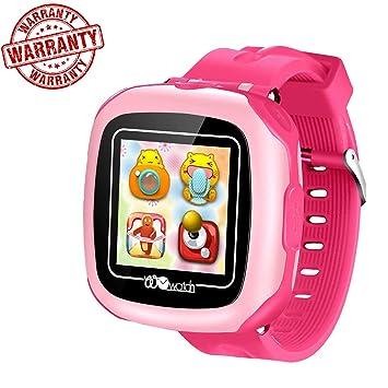 VANNICO Smartwatch Niños, Reloj Niños, Reloj Inteligente, Juegos de Pantalla táctil Smartswatch con Llamadas Cámara Digital para niños Niñas Niños Regalo de ...