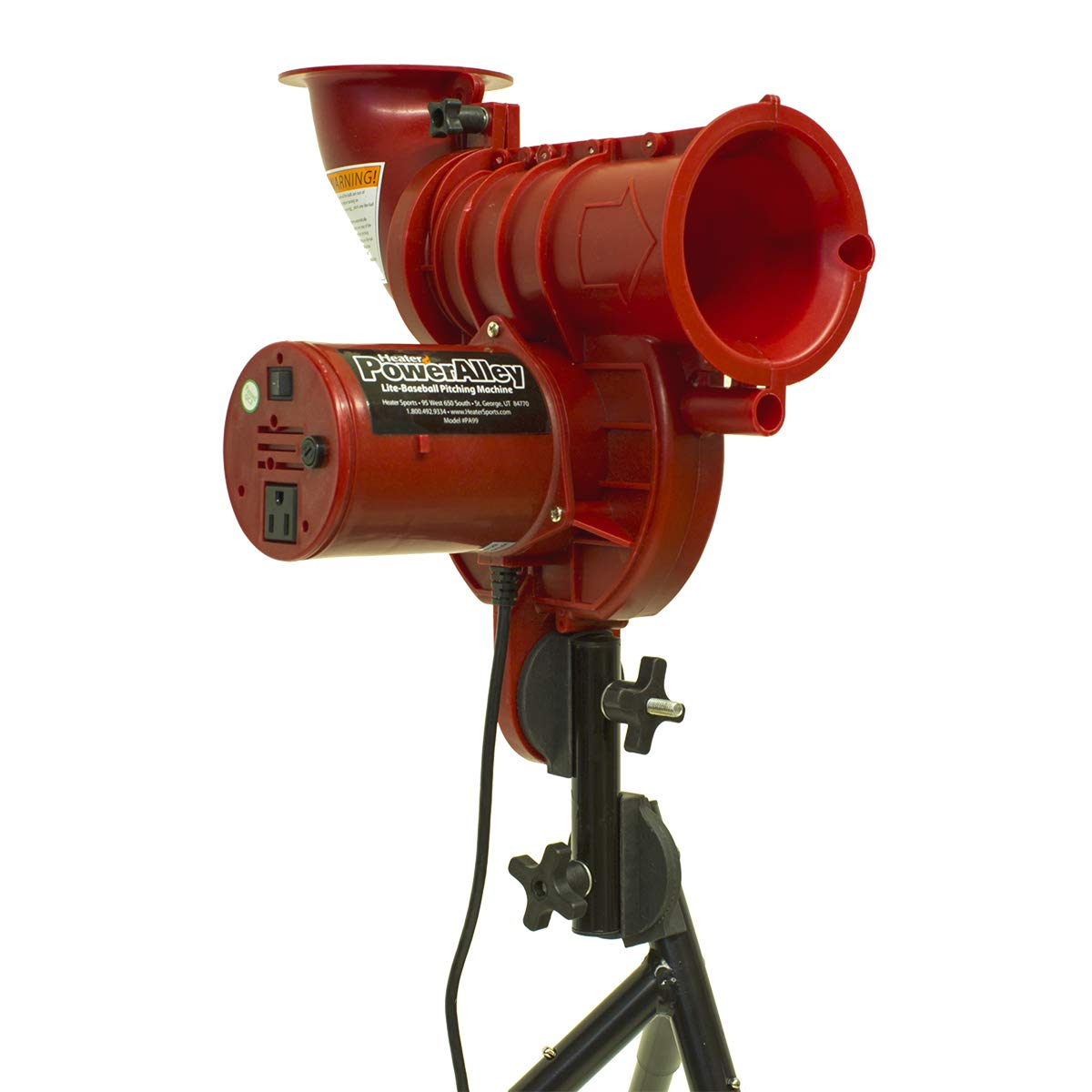 Heater Sports PowerAlley Lite Curveball Machine by Heater Sports