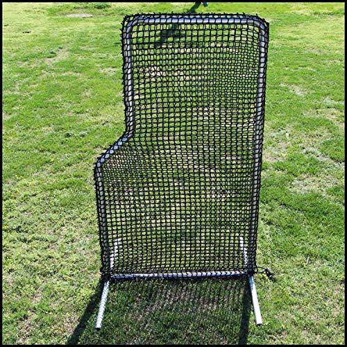 Jones Sports Replacement 4ft x 7ft L-Net Screen #84HDPE-120Ply NET ONLY by Jones Sports