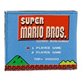 Nintendo Super Mario Bros. 1985S Retro Gameplay Bi-Fold Wallet (Mw1px6sms)