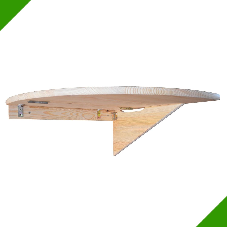 50 cm x 50 cm Ecktisch Klapptisch Tisch Eckregal Wandtisch aus Holz Fröschl Autozubehör