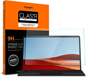 Spigen Tempered Glass Screen Protector Designed for Surface Pro X (13 inch / 2019) [9H Hardness/Case-Friendly]