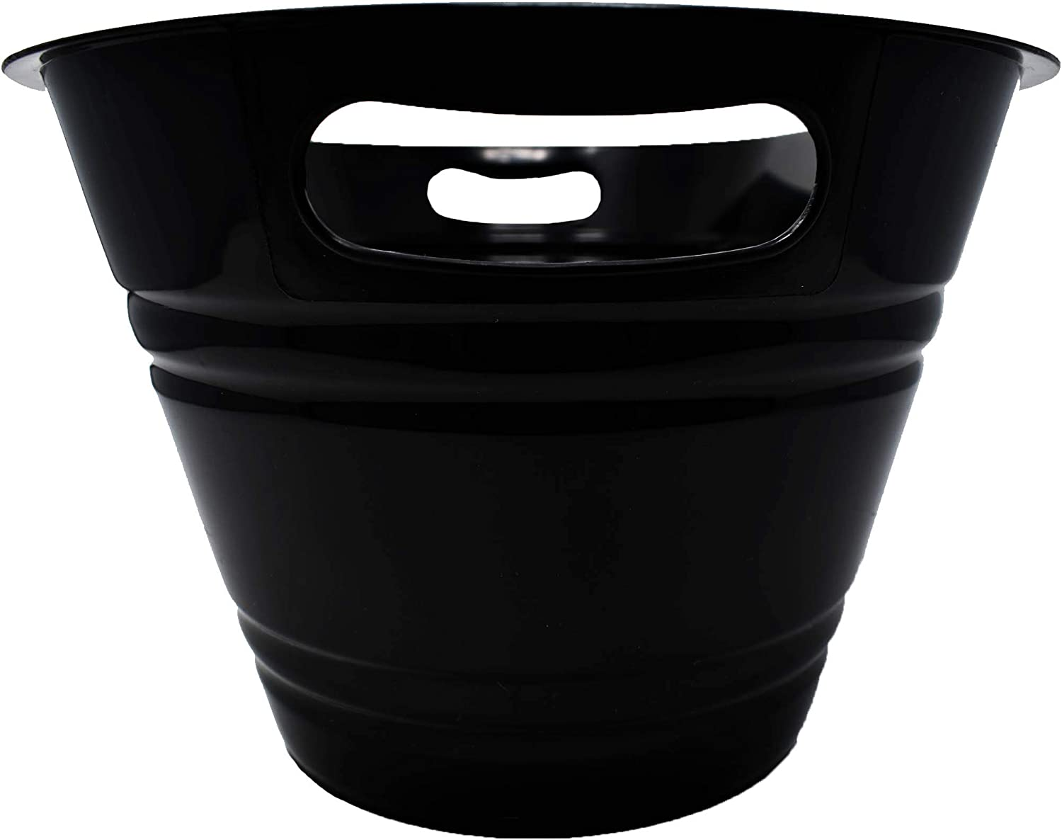 PTI Group Large Oval Black Party Tub