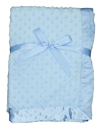 e9e9d3750 Amazon.com  LUXEHOME Super Soft Microfiber Plush Baby Blanket (Blue ...