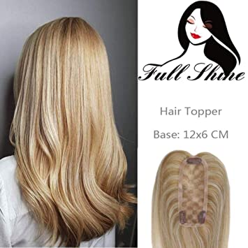 Full Shine 10 inch Topper Hairpieces Cover