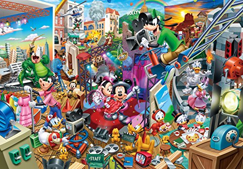 Tenyo (Dg2000-617 Disney Mickey's Movie Studio Jigsaw Puzzle (2000 Pieces) ()