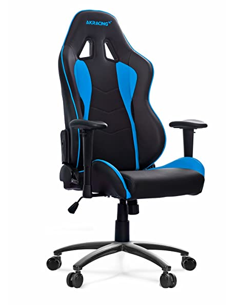 AK Racing NITRO - Silla para Gaming, color azul