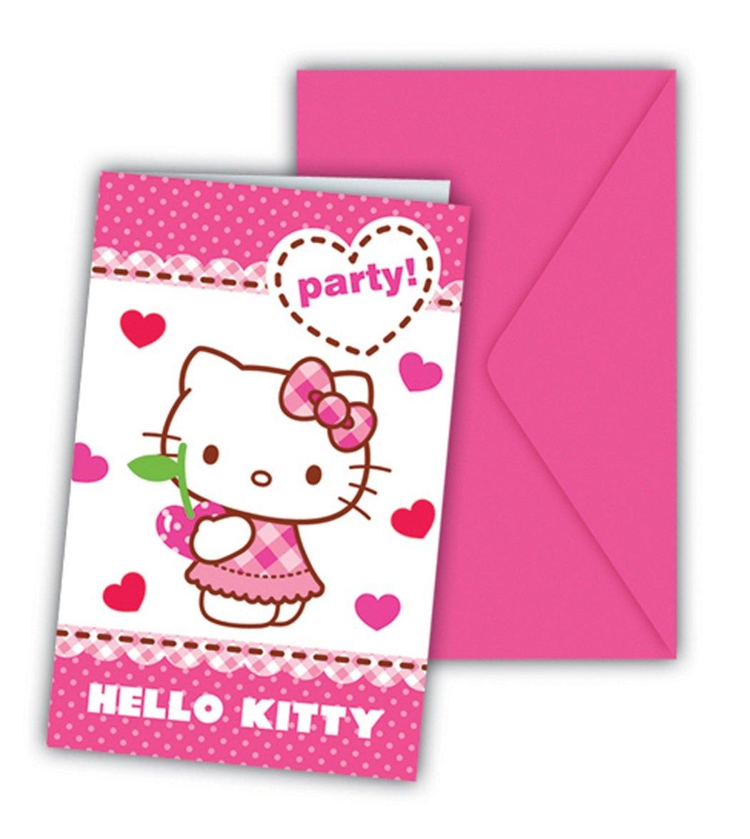 Procos Hello Kitty Einladungskarten Envelop: Amazon.de: Computer U0026 Zubehör