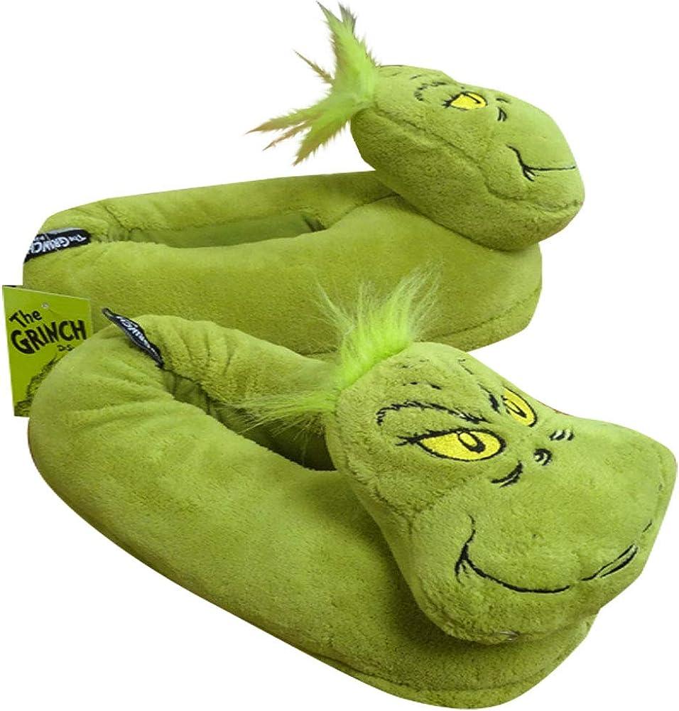 Dr Seuss Unisex Grinch Slipper