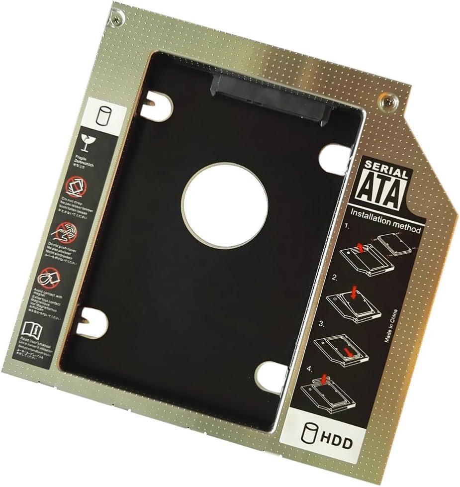 Almencla 9.5mm Sata Universal HDD Ssd Disco Duro De Disco Duro ...
