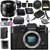 Fujifilm X-T20 Mirrorless Digital Camera (Black) 16542490 XF 23mm f/1.4 R Lens 16405575 Bundle