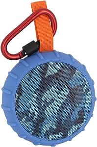 Dasking Bocina Bluetooth 5.0 Portátil Impermeable contra Agua Altavoz Inalámbrico Llamadas Manos Libres Batería Recargable hasta 12 Horas Sonido Estéreo Compatible con iOS y Android para Actividades Exteriores/Fiesta/Bicicleta (Azul)