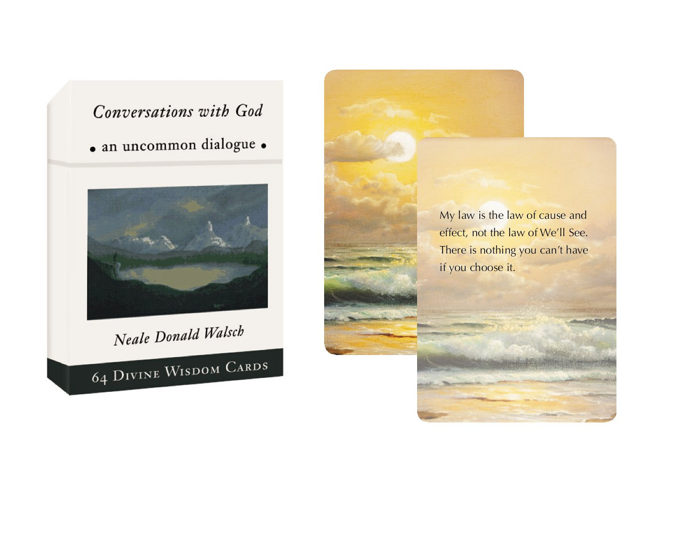 Amazon: Conversations With God Divine Wisdom Cards: An Uncommon  Dialogue (9780399166990): Neale Donald Walsch: Books