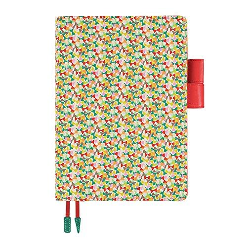 Hobonichi Techo Cousin - Liberty Fabrics: Fluttering Set (Japanese/A5/Jan 2018 Start) by Hobonichi Techo