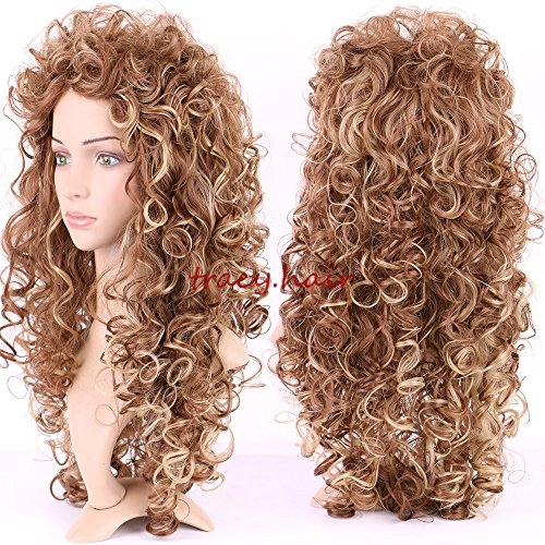 Extra Long Curly Wig - 8