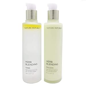 Nature Republic Herb Blending TONER & EMULSION SET Anti Wrinkle