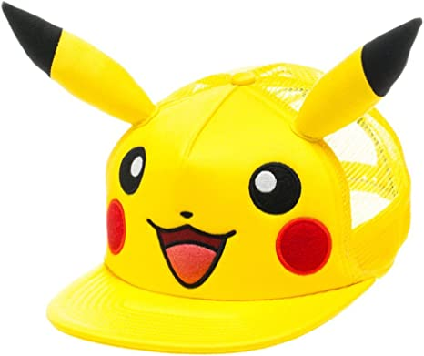 Pokemon Pikachu Beanie with Ears New BIOWORLD