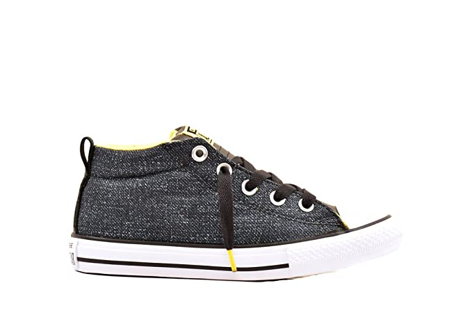 28c6efa96e33 Amazon.com  Converse Junior CTAS Street Mid 651786C Sneakers  Clothing