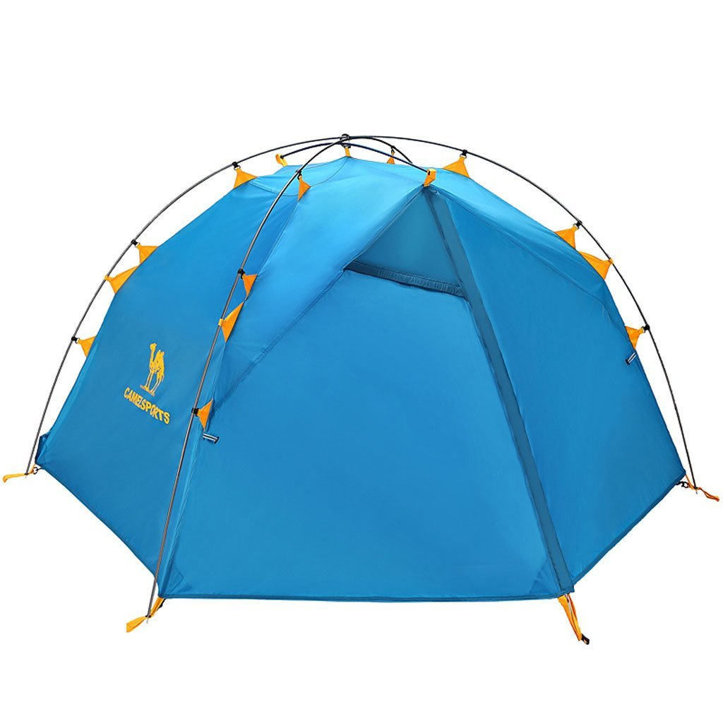 Neue Outdoor-Zelt ultraleichte Aluminiumpfosten Doppelstock Outdoor-Camping-Zelt regen