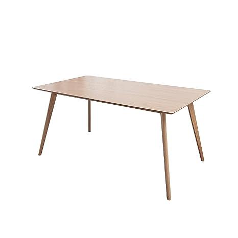Stylischer echt Eiche Esstisch HYGGE 160cm skandinavisches Design  Massivholz Tisch Holztisch Küchentisch Eichenholz