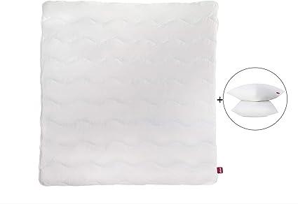 Abeil Kit Ecologique Couette 140 x 200 cm et Oreiller 60 x 60 cm