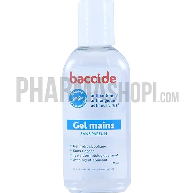 Buy Gel Mains Sans Parfum 75ml Baccide Online At Low Prices In