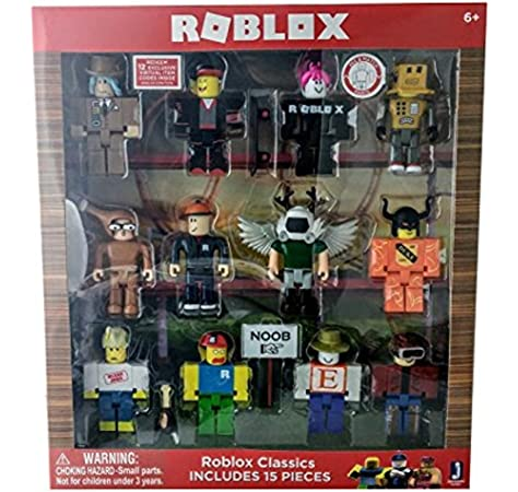 How To Make Your Character Look Like A Classic Noob In Roblox Roblox Series 1 Classics 12 Figure Pack Includes Builderman Chicken Man Classic Noob Erik Cassel Girl Guest Keith Lmad Buy Online At Best Price In Uae Amazon Ae