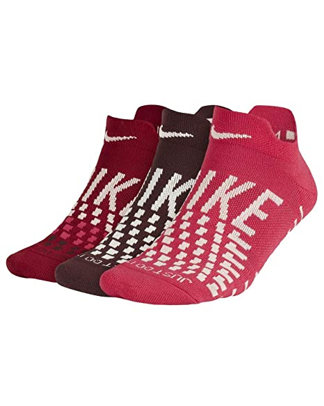 Nike Everyday Max, Calzini a cuscino, Donna, Multicolore, S, 3 paia