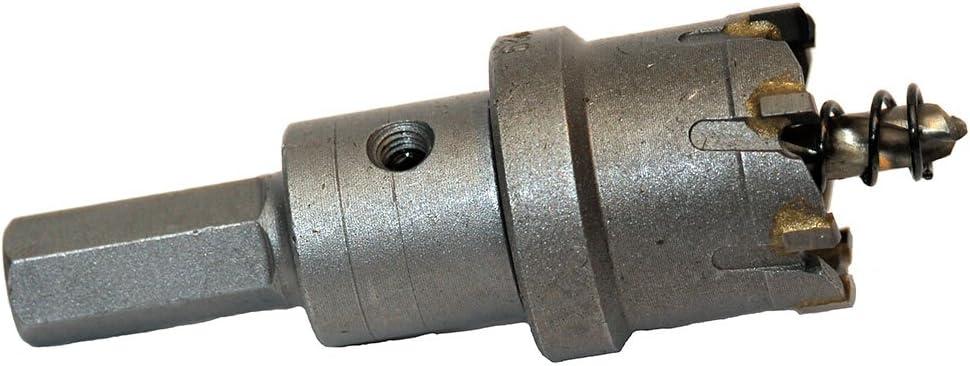 FRP. 25mm Blue Boar TCT Metal Pro 1 fiberglass steel plate sheet metal tungsten carbide hole cutter copper Up to 3//16 thick stainless steel brass aluminum cast iron